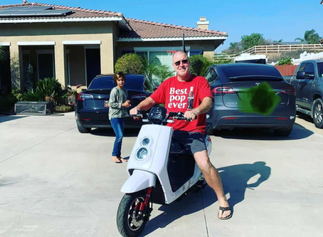 Switching to Zoom electric moped scooter, surprisingly good