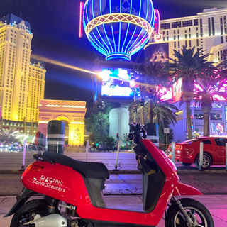 Zooming in Vegas baby!