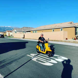 Yellow Zoom electric scooter.jpg