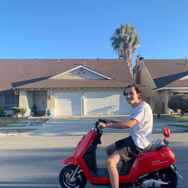 Zoom happy customer in Orange County, CA