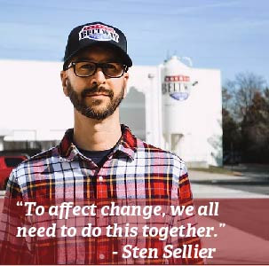 Sten Sellier, Your Friendly Neighborhood Brewer