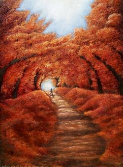 pâle soleil d'un glorieux automne
