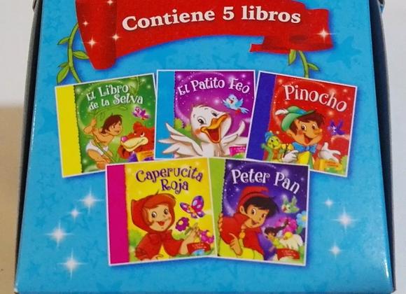 COFRE CON 5 CUENTOS CLÁSICOS - ARTEMISA