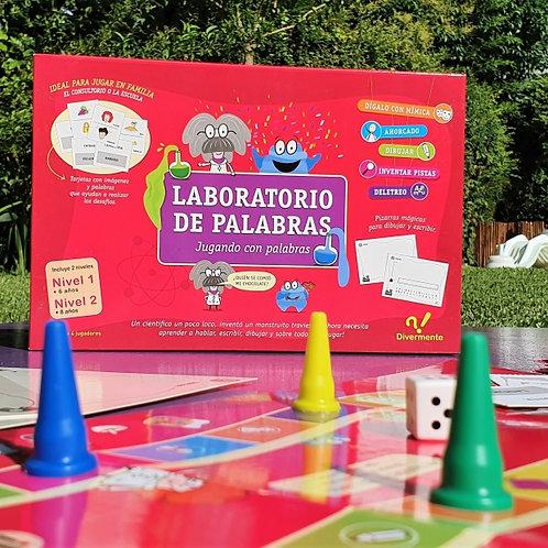 LABORATORIO DE PALABRAS - DIVERMENTE