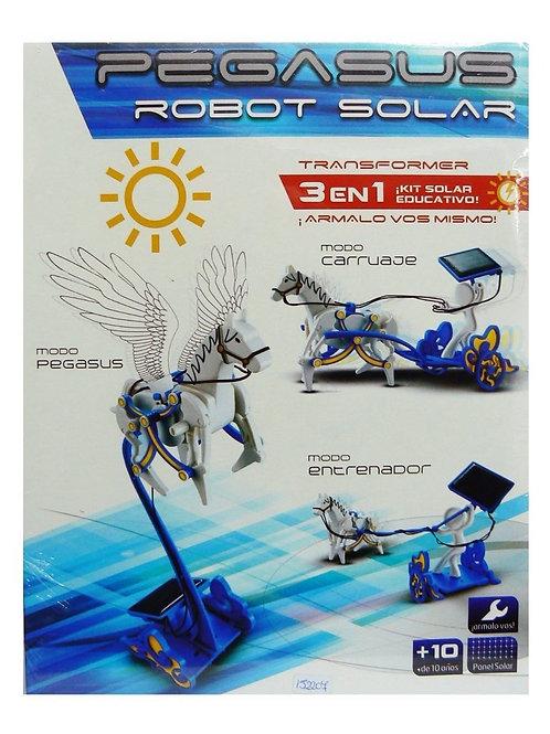 ROBOT KIT SOLAR - PEGASO - 3 EN 1