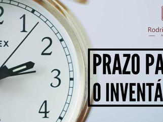 Qual o prazo para fazer o inventário  e qual a multa se não for feito no prazo?