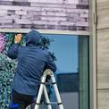 Decorative Window Film Installation-az.j