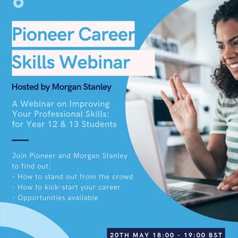 Morgan Stanley & Pioneer Career Skills Event for Year 12-13