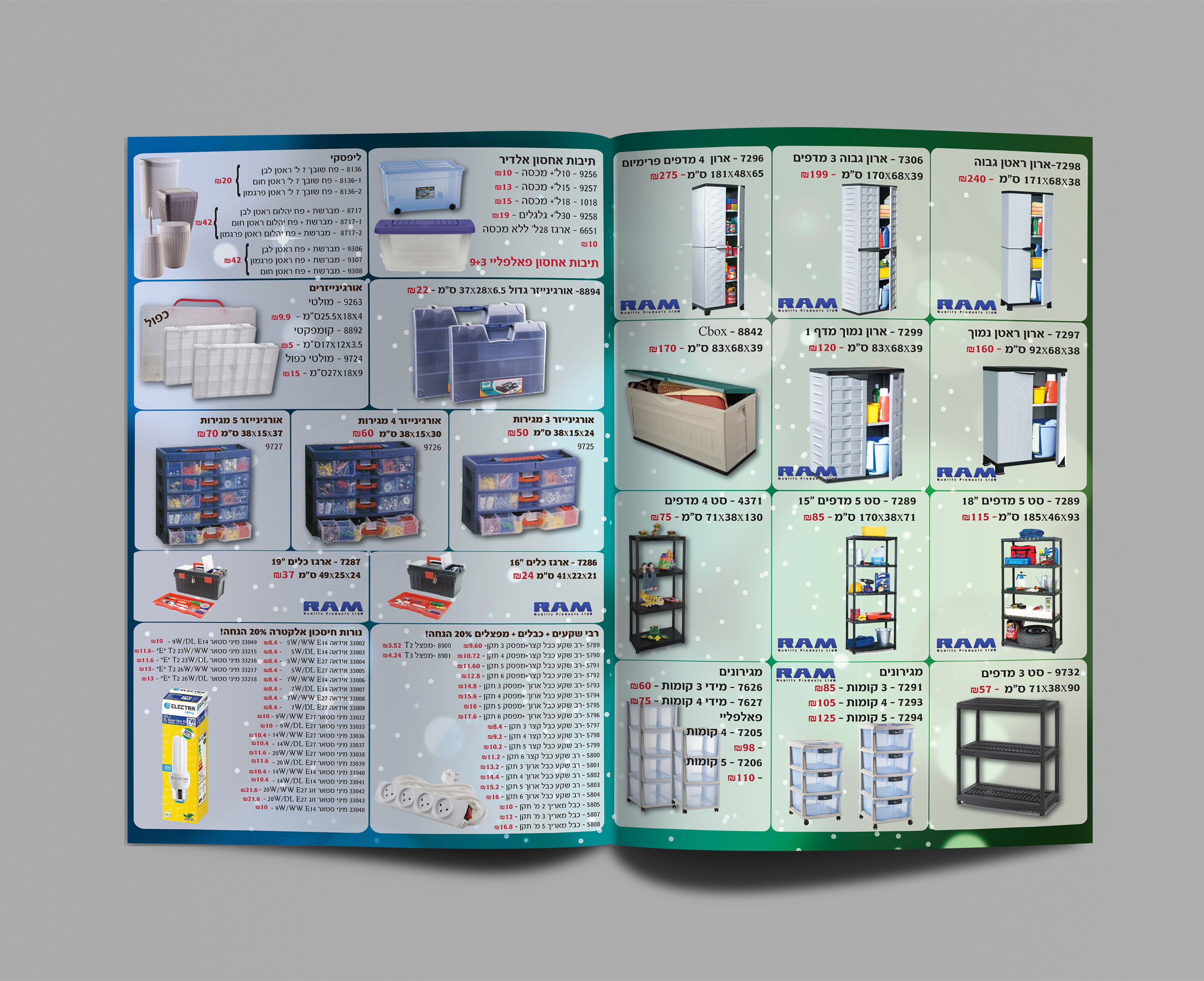 Advertise booklet - Inside