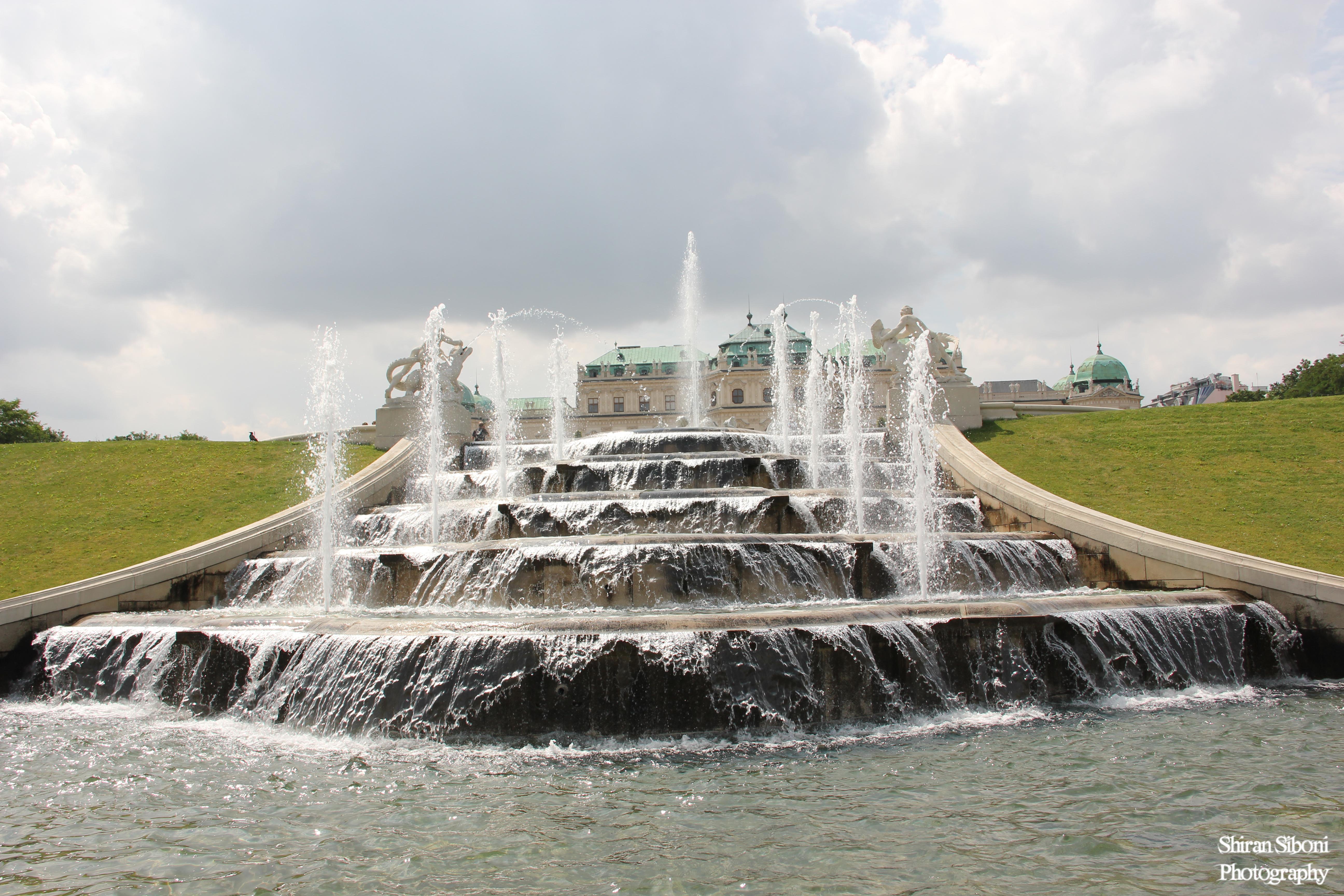 מזרקה - ארמון בלבדיר