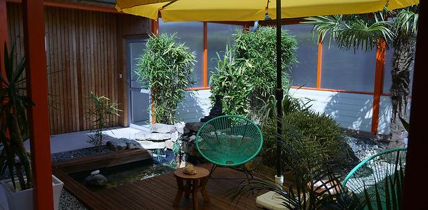 Perigueux Bellaforme hotel spa patio
