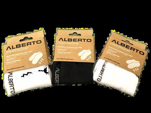 Pack of 3 Sneaker Sock by Alberto