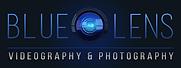 BLue Lens Logo w Black BG.png