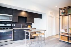 Model Unit 306. Kitchen Area