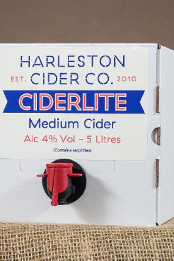 5L Ciderlite (Medium) - 4% ABV