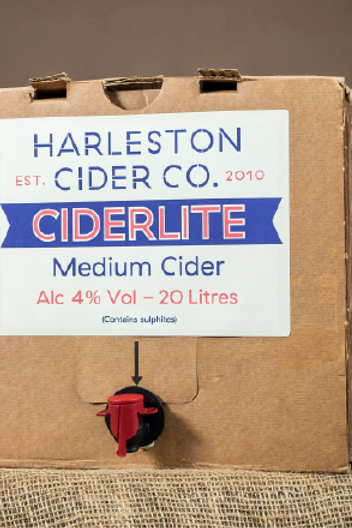 20L Ciderlite (Medium) - 4% ABV
