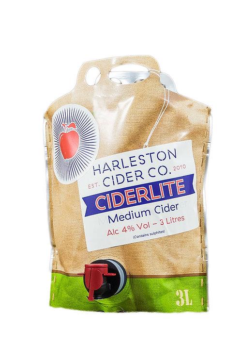 3L Ciderlite (Medium-Sweet) - 4% ABV