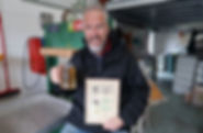 Ken Woolley Perry wins CAMRA award for cider company