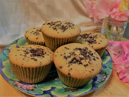 Gluten, Dairy & Soy Free Chocolate Chip Muffins