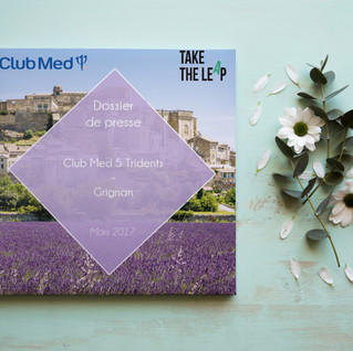 Dossier de presse Club Med