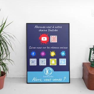 Affiche promotion association