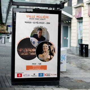 Affiche promotionnel concert