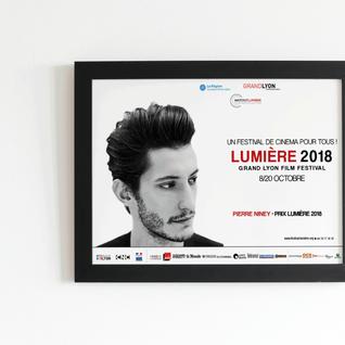 Affiche promotion festival Lumière