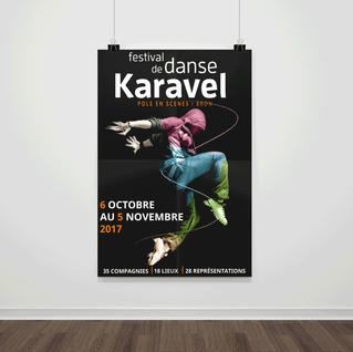 Affiche Festival Karavel