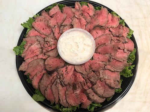 Cooked Beef Tenderloin Tray