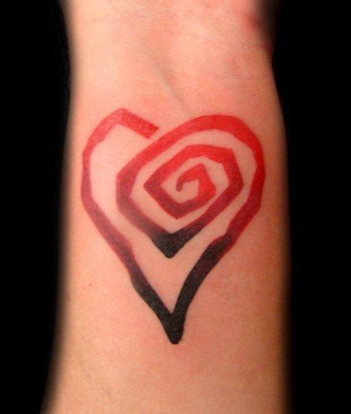 heart - wrist