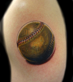 baseball - left arm