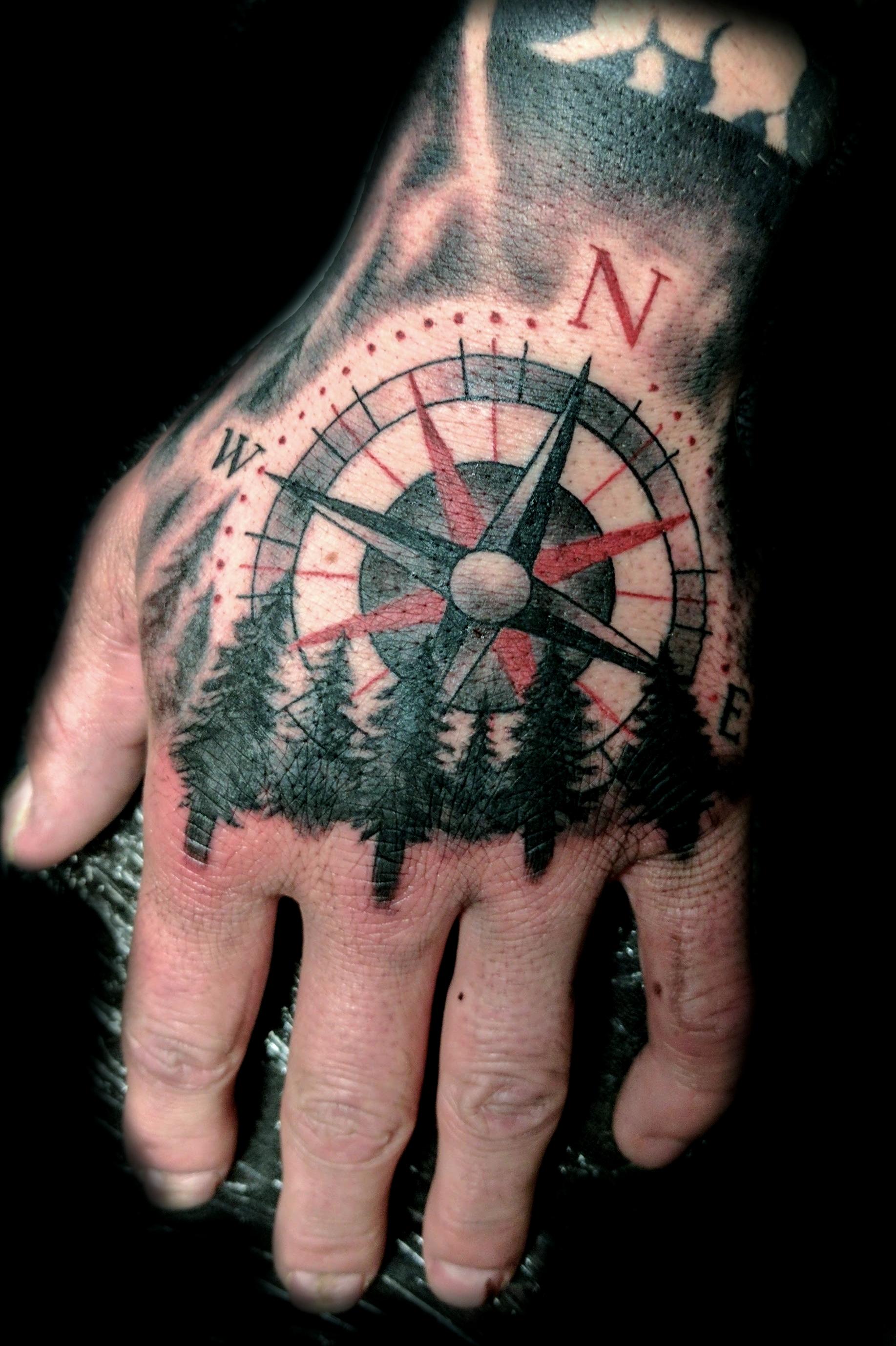 Compass - left hand