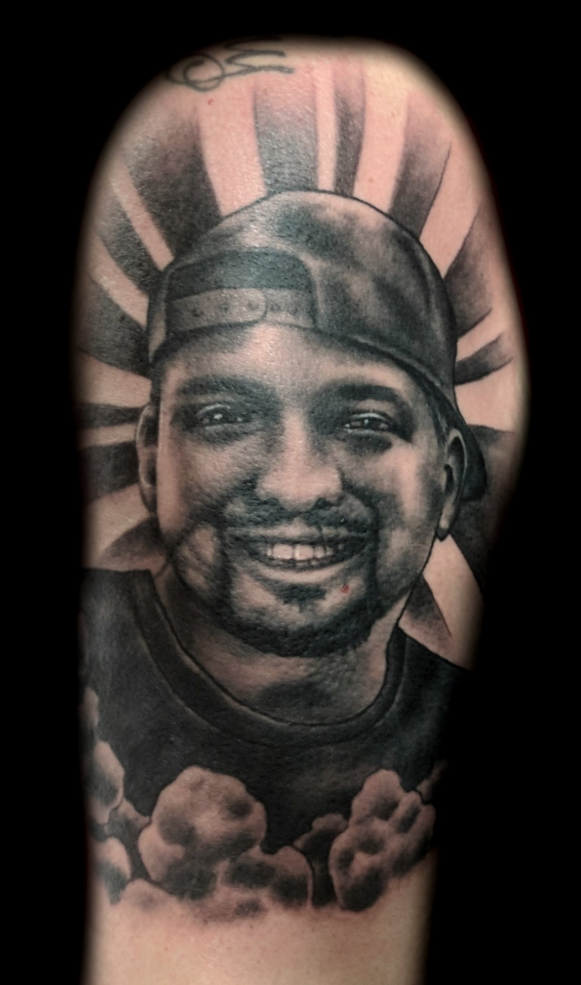 portrait - left arm - nick