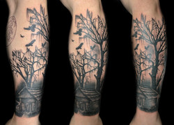 cabin swamp - left forearm