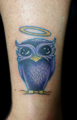 owl - right ankle