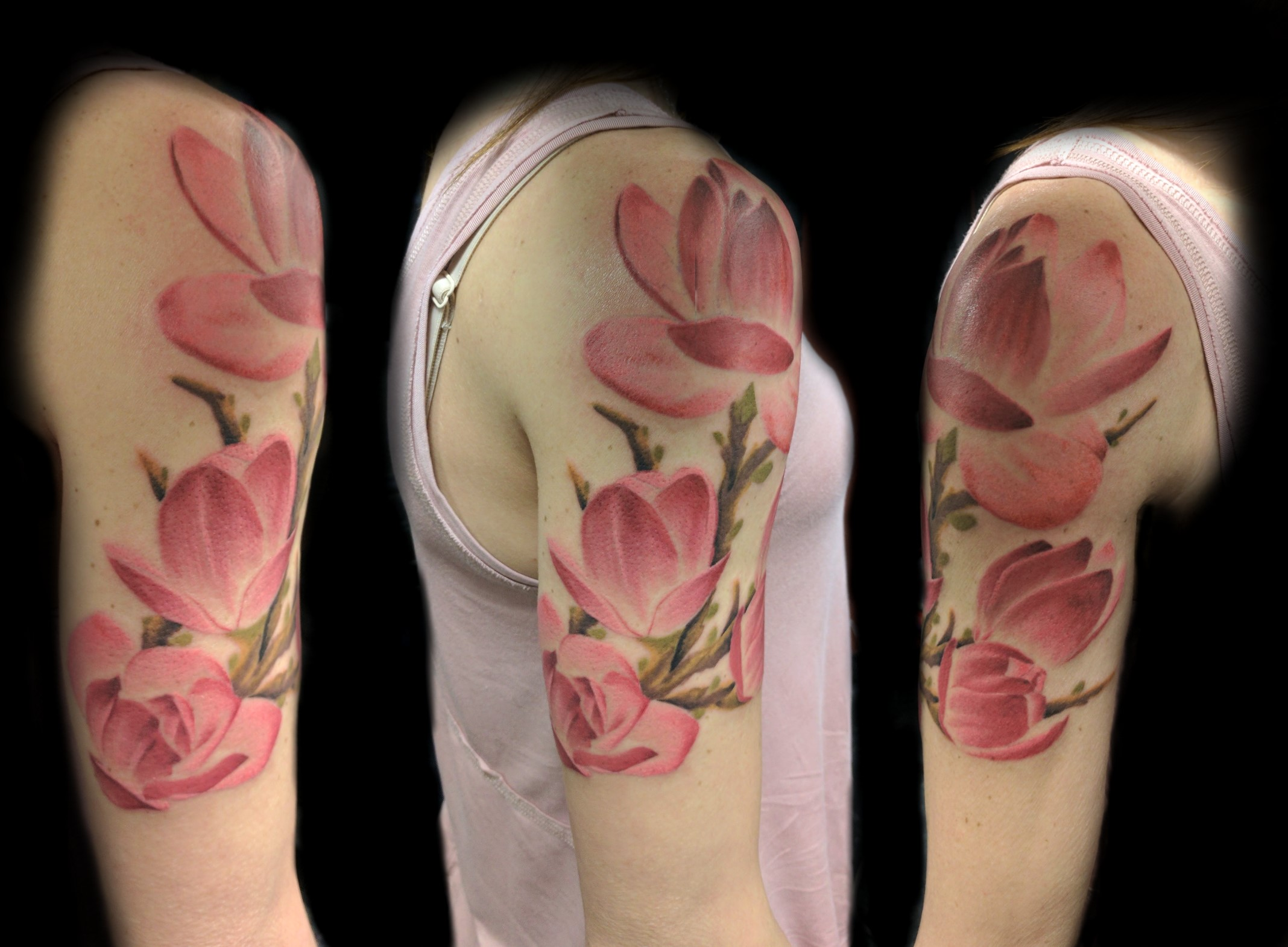 flowers - right arm