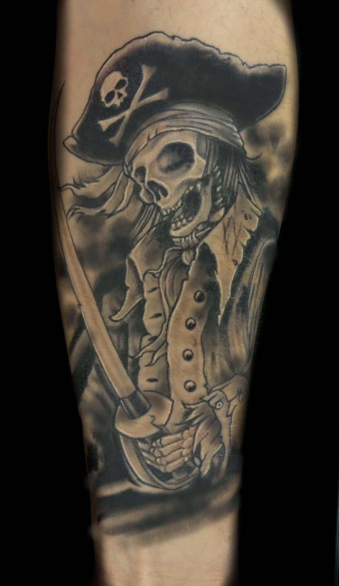 pirate - left forearm