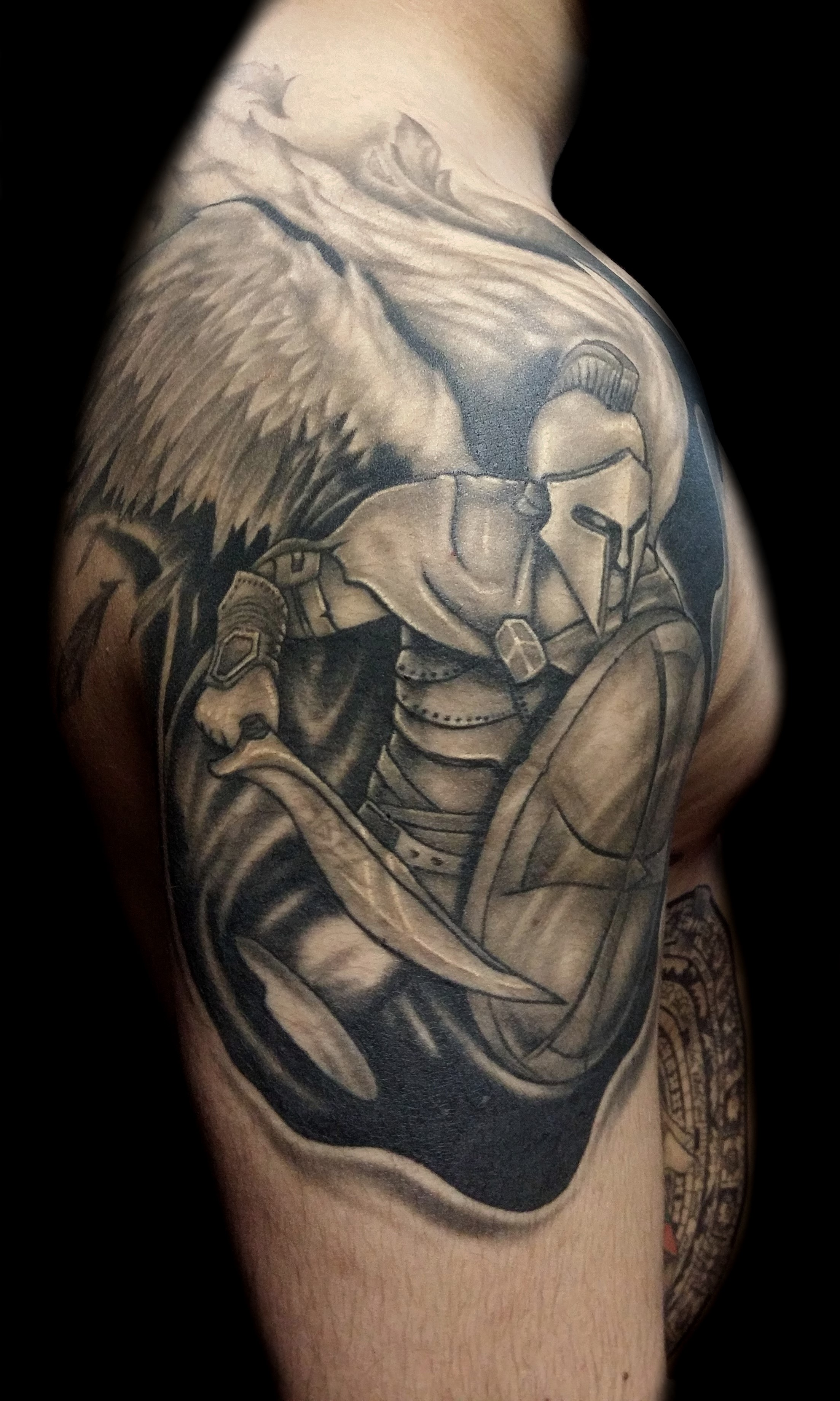 arch angel - right shoulder
