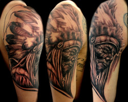 indian - right upper arm