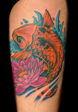 koi - left thigh