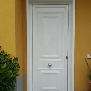 Puerta panel blanco