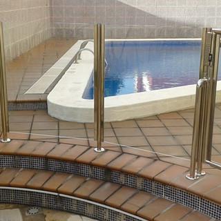 Barandilla piscina