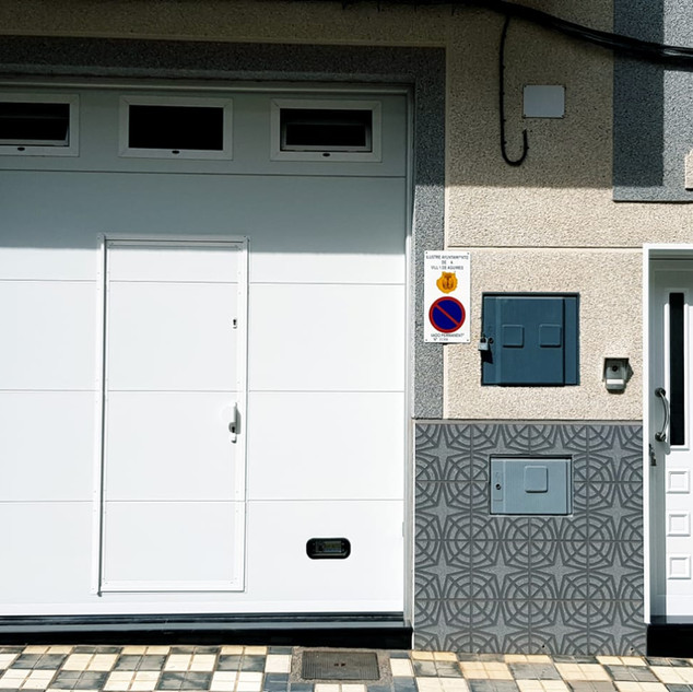 Seccional y puerta de entrada