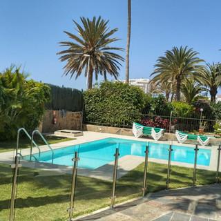 Vallado piscina