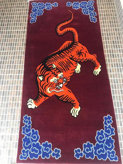 Rectangle Tiger Runner 51