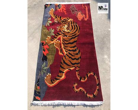 Tibetan Tiger Rug 018