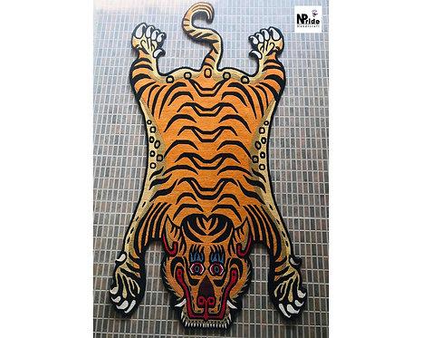 Tibetan Tiger Rug 057