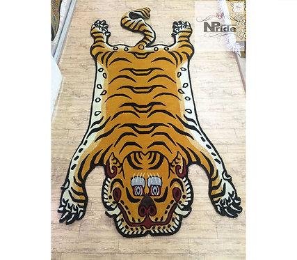 Tibetan Tiger Rug 3 Sizes 05