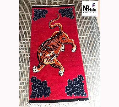 Red Tiger Rug  044