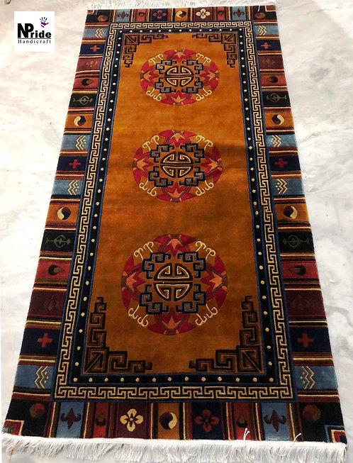 Tibetan Mandala Rug  022